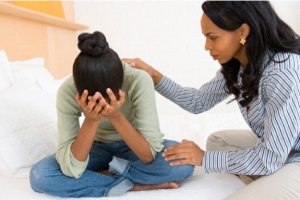 Role of family and friends in depression