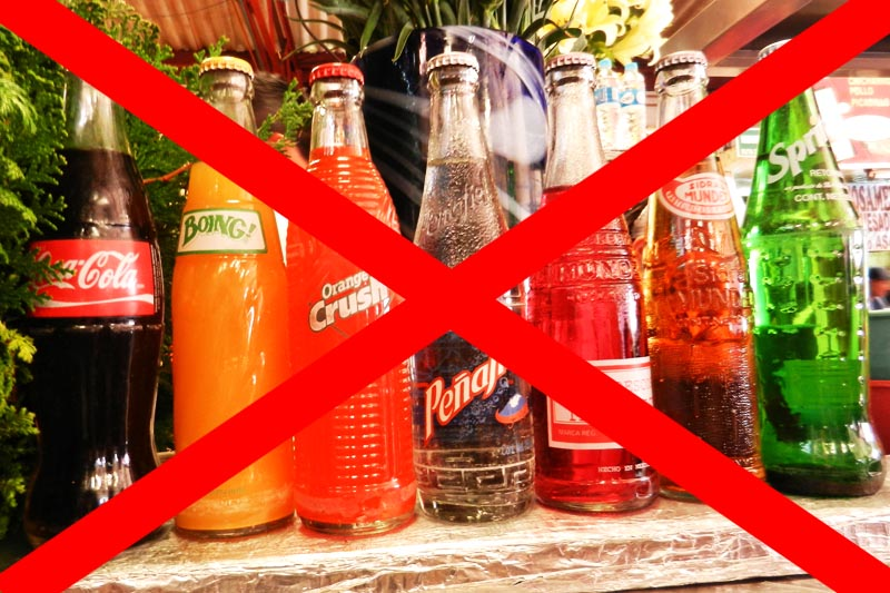 stop drinking fizzy drink