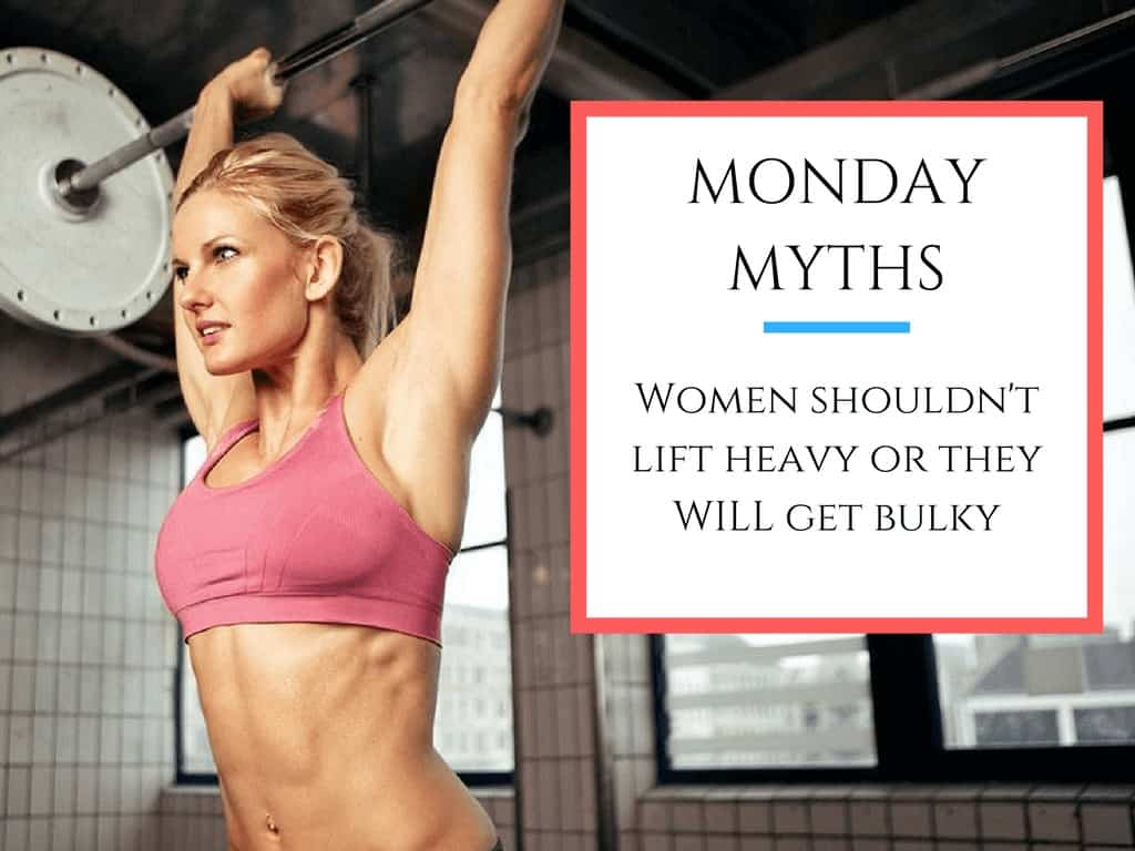 misconception about women weight lifting