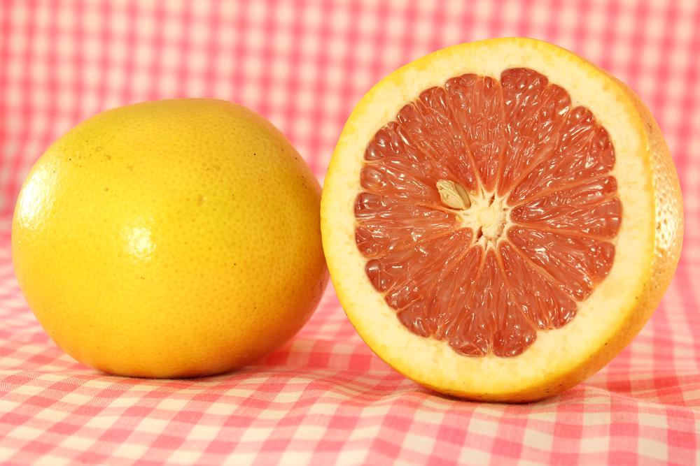 Calories in grapefruit