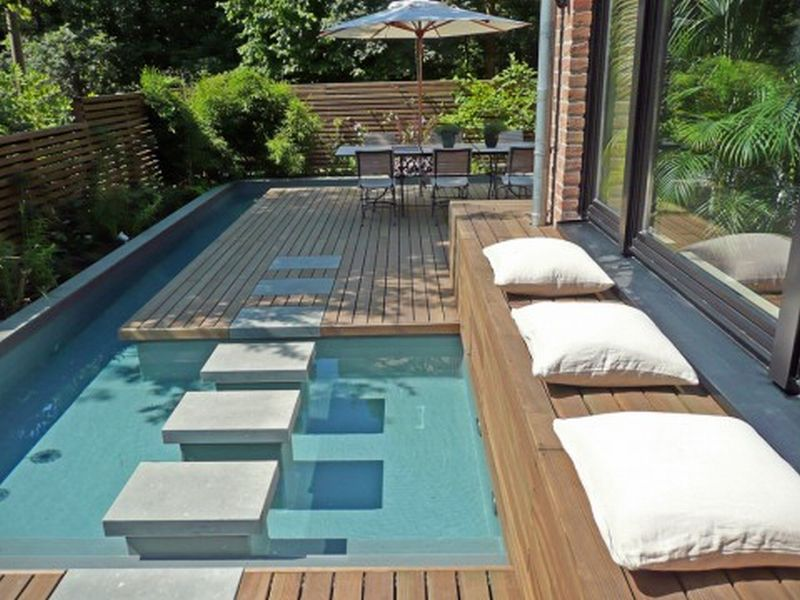 Photo of Fiberglass pool design; How to install